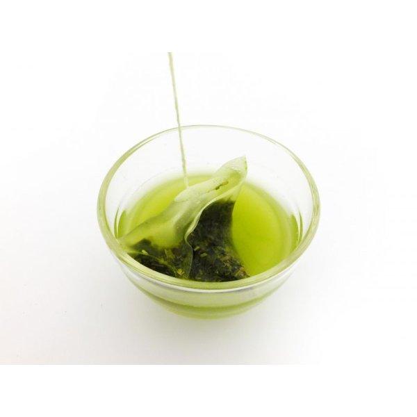 画像2: 緑茶ティーバッグ(ヒモ付き) 2.5g×10ケ